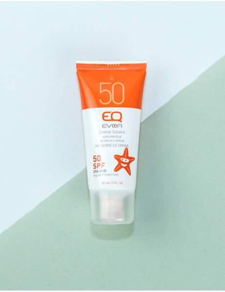 Une crème solaire waterproof