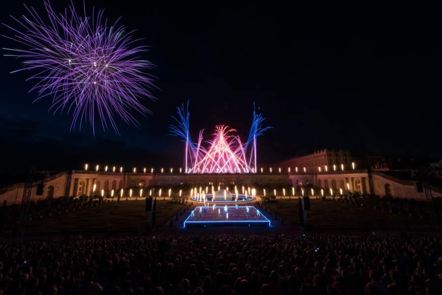 Au château de Versailles, des illuminations royales