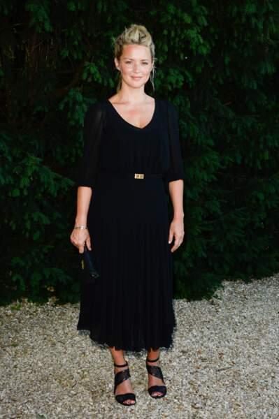 Look Virginie Efira : all black