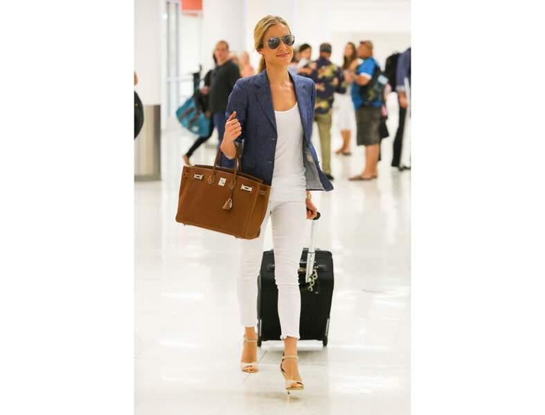 Kristin Cavallari : le Birkin d'Hermès en été