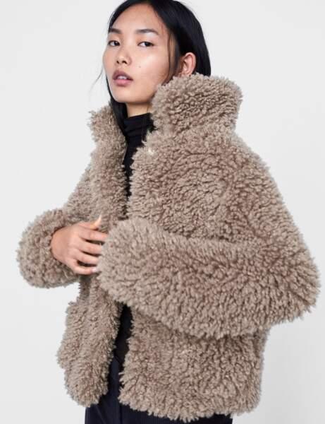 Manteau tendance: tout doux