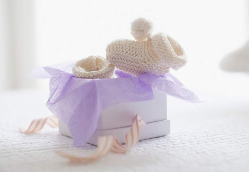 Des chaussons de naissance