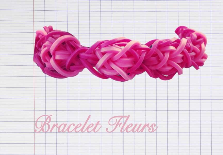 Le bracelets Fleurs