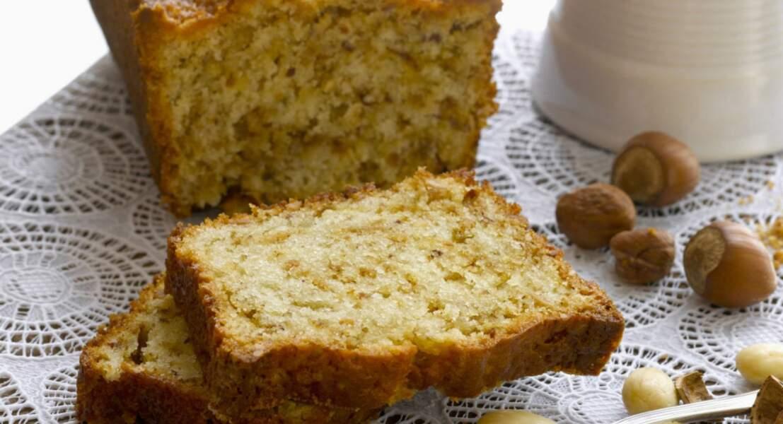 Gâteau au yaourt et pralin
