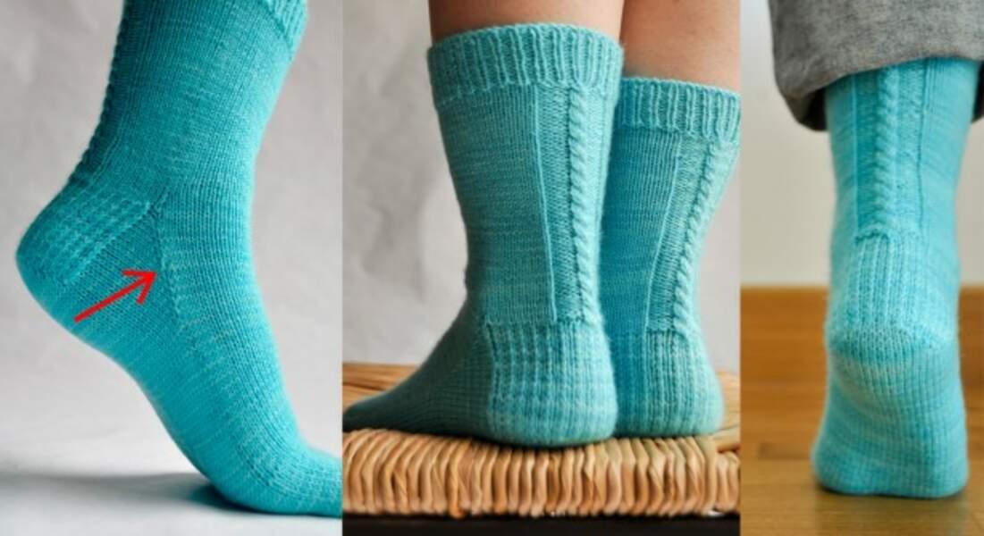 Les chaussettes d'Elise