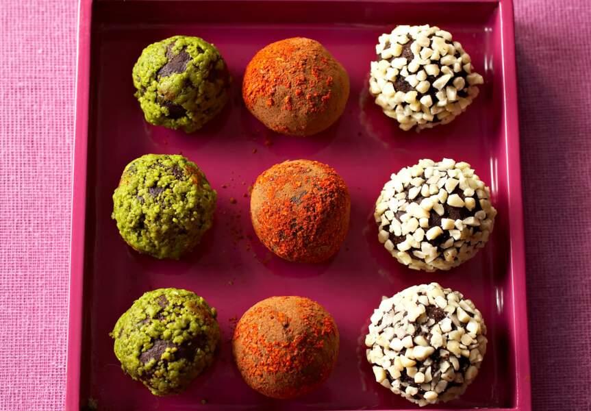 Les truffes croustillantes