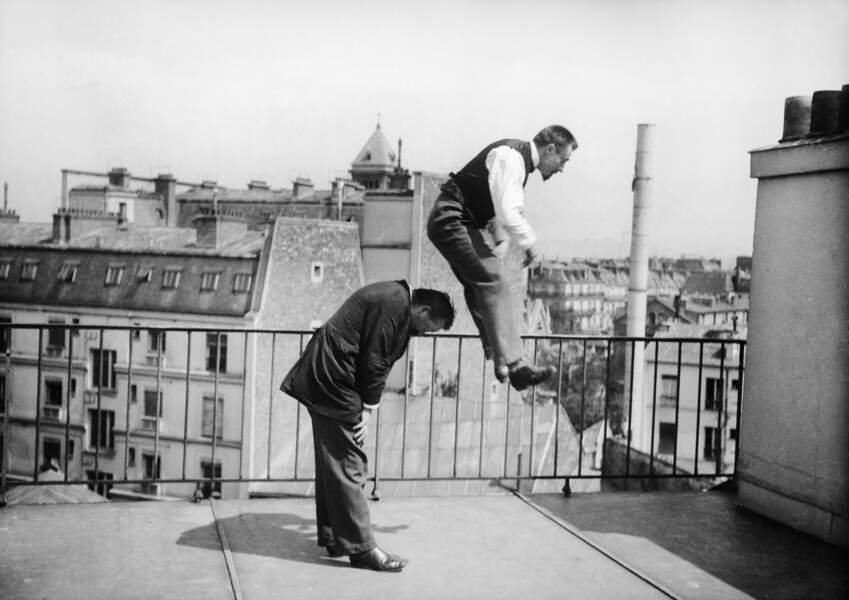 Partie de saute-mouton,1896.