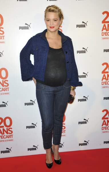 Look Virginie Efira : enceinte