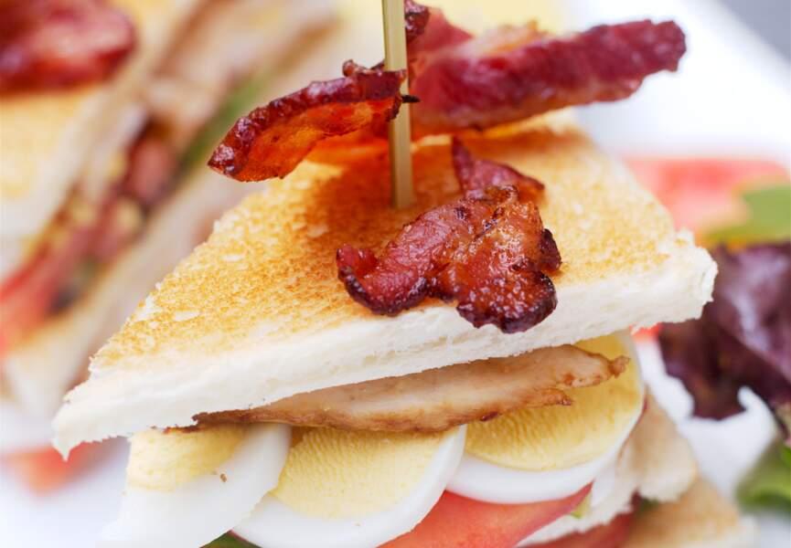 Le club sandwich façon palace