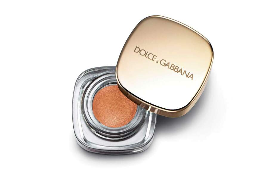 L'Italian Zest Perfect Mono Eyeshadow Copper Dolce and Gabbana