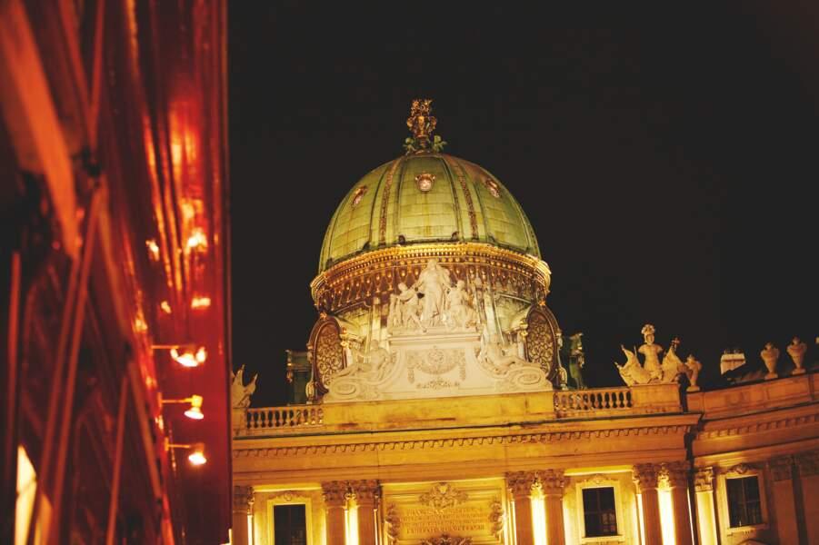 Coupole du palais impérial la Hofburg