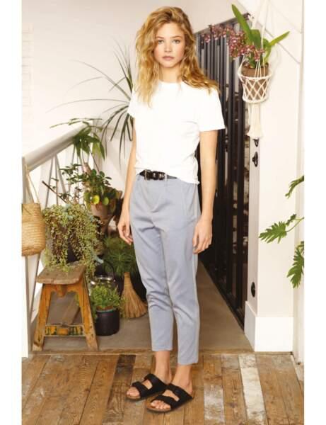 Pantalon tendance : pantalon à motif