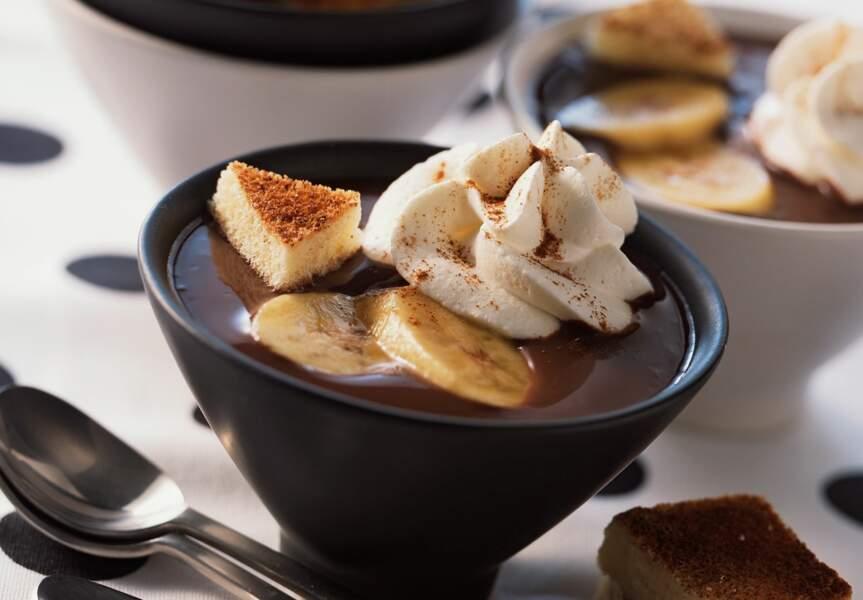 Le chocolat chaud dans sa version pralinée