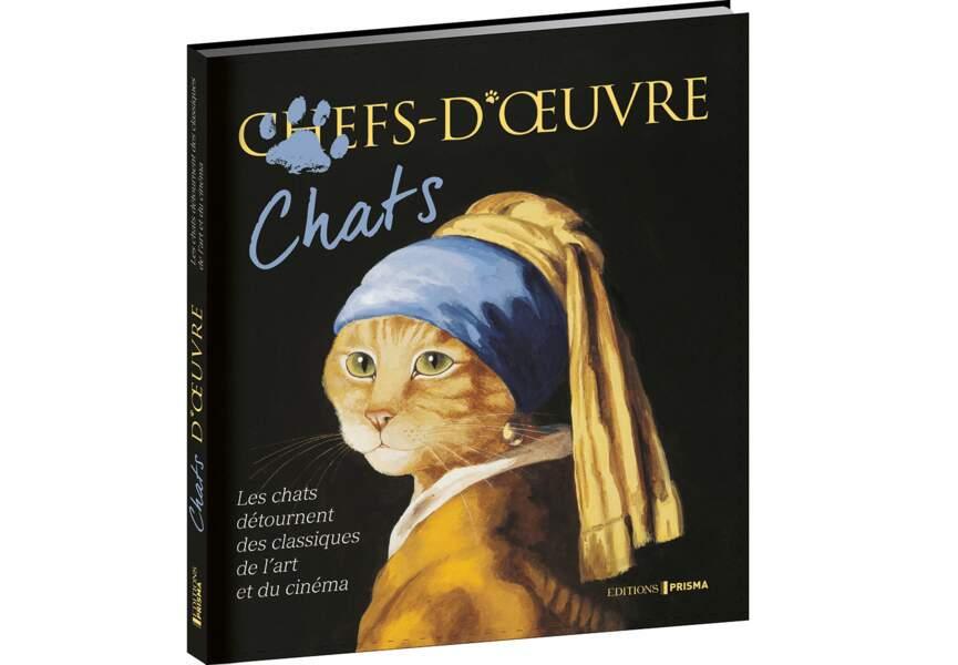 """""""Chats-d'oeuvre"""" de Susan Herbert, aux éditions Prisma"""