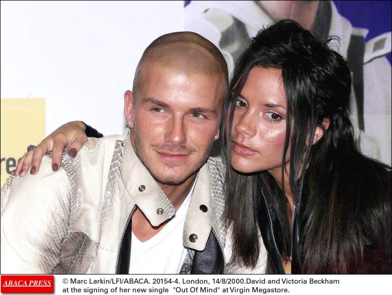 David et Victoria Beckham...