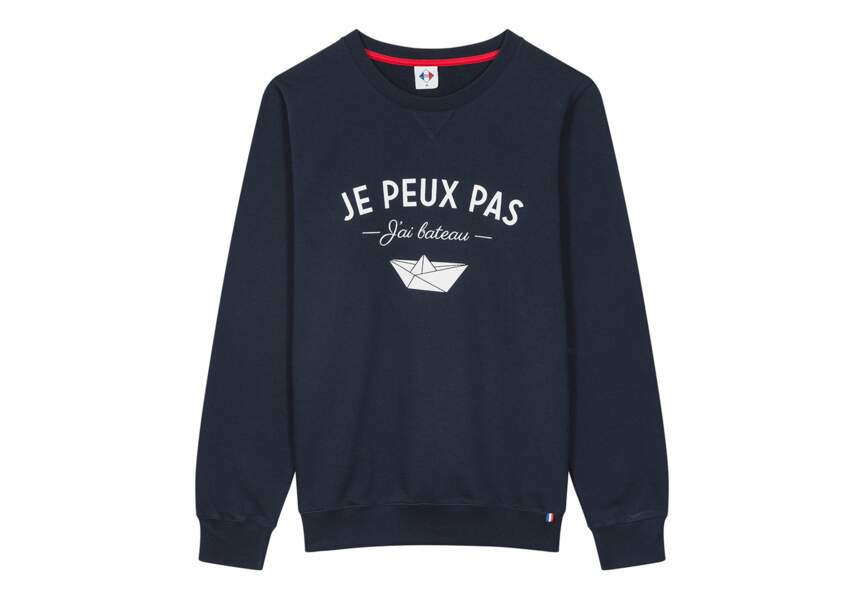 """Tex """"Made In France"""" : le sweat mixte"""