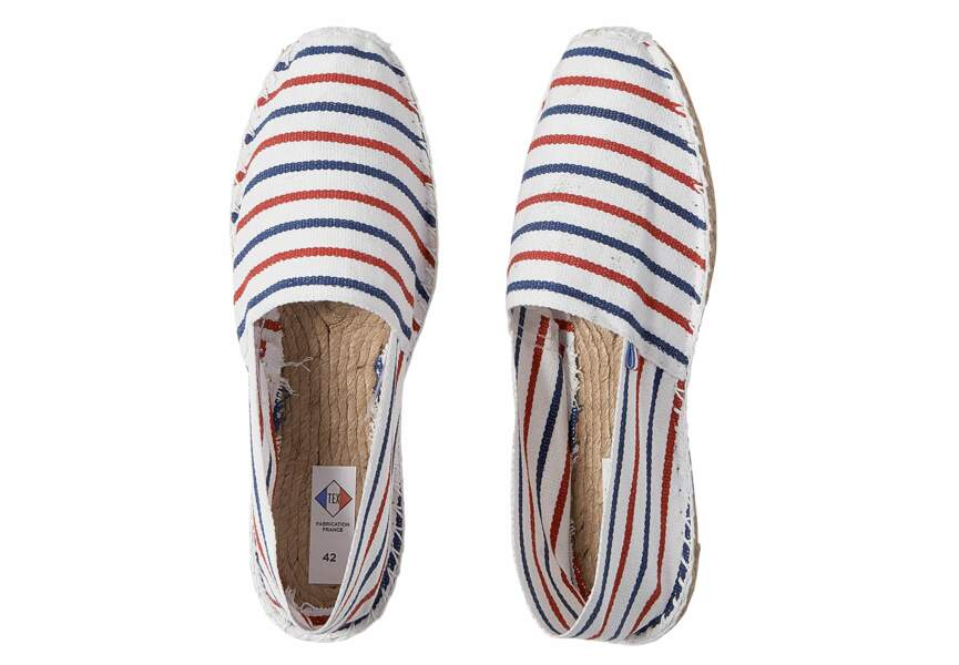 """Tex """"Made In France"""" : les espadrilles """"cocorico"""""""