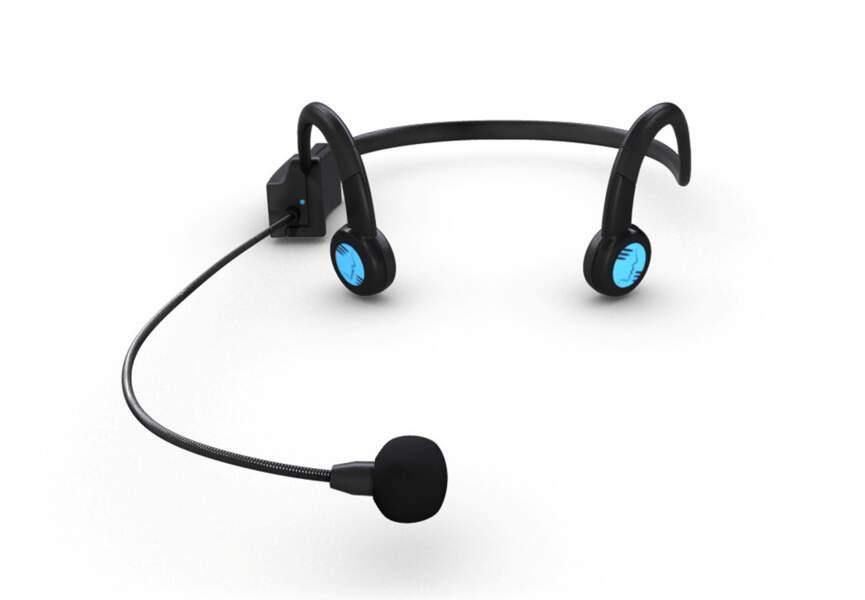 Le casque pour exercer l'audition et la voix