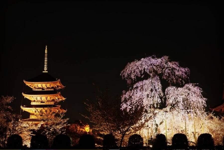 À Kyoto, de nuit