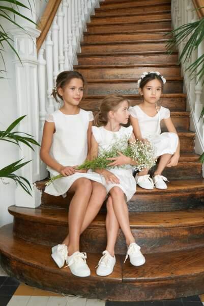 Robes et tennis - LAURE DE SAGAZAN x JACADI