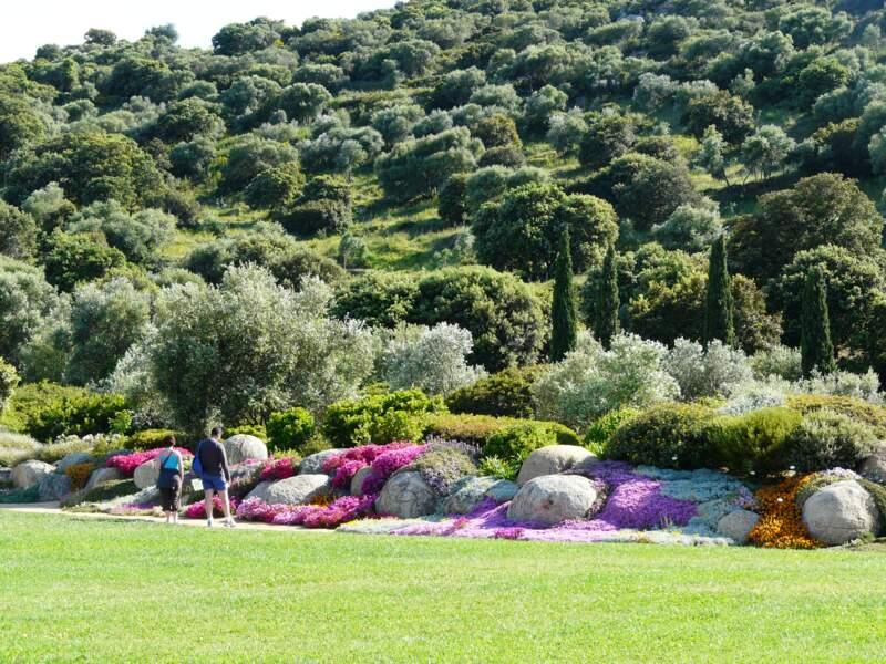 Le parc de Saleccia à L'Île-Rousse (Corse)