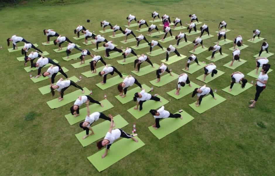 Yoga Day : 10 millions de Chinois pratiquent le yoga régulièrement