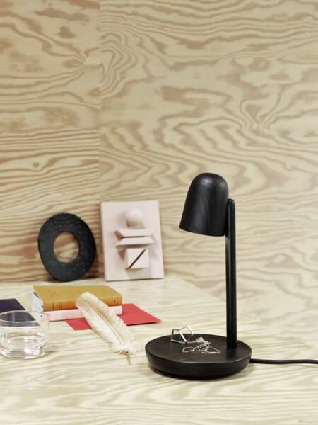 Lampe de bureau vide-poche