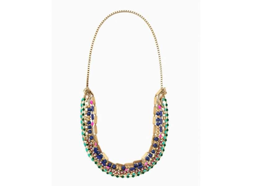 Accessoire tenue de mariage & cérémonie : collier modulable