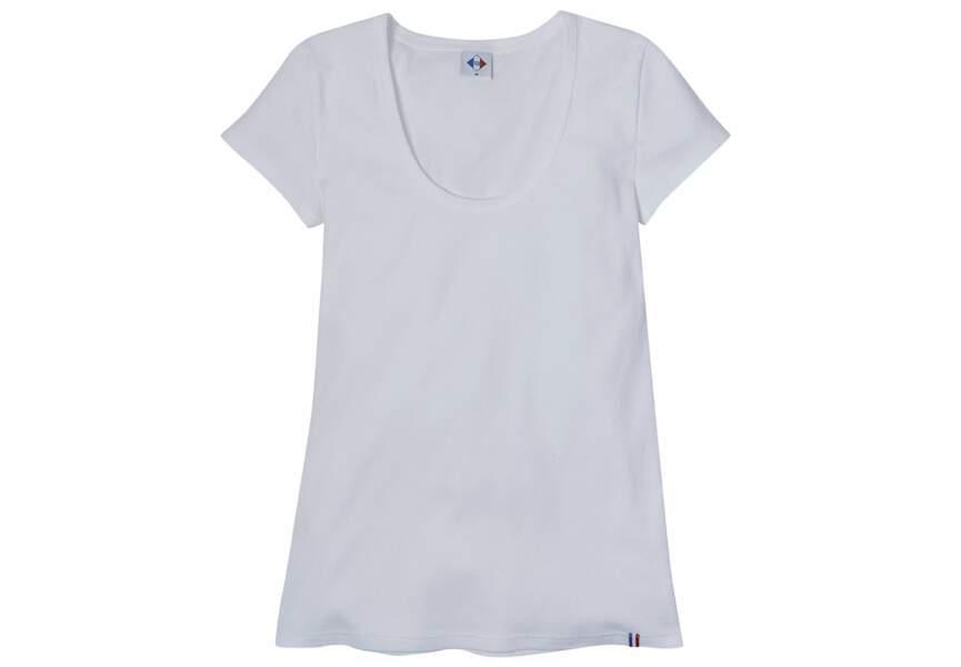 "Tex ""Made In France"" : le tee-shirt blanc"