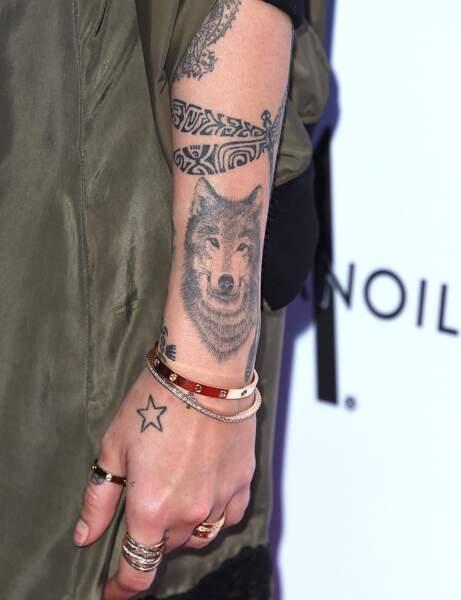 Le tatouage loup