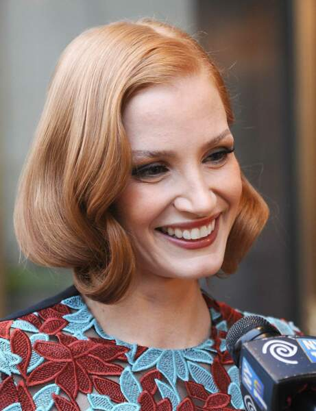 Jessica Chastain : son faux-carré