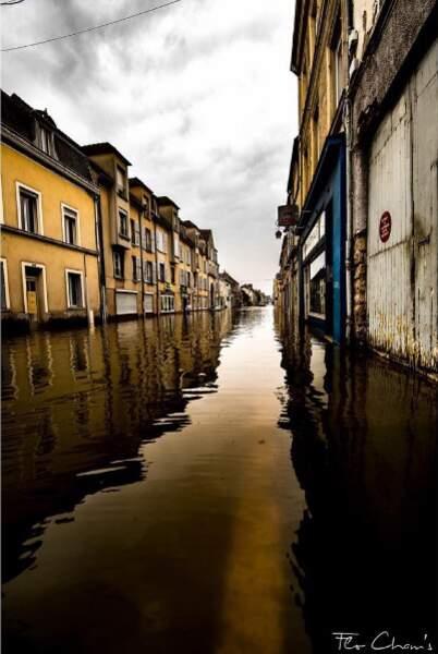 À Nemours, 3 000 habitants ont dû être évacués...