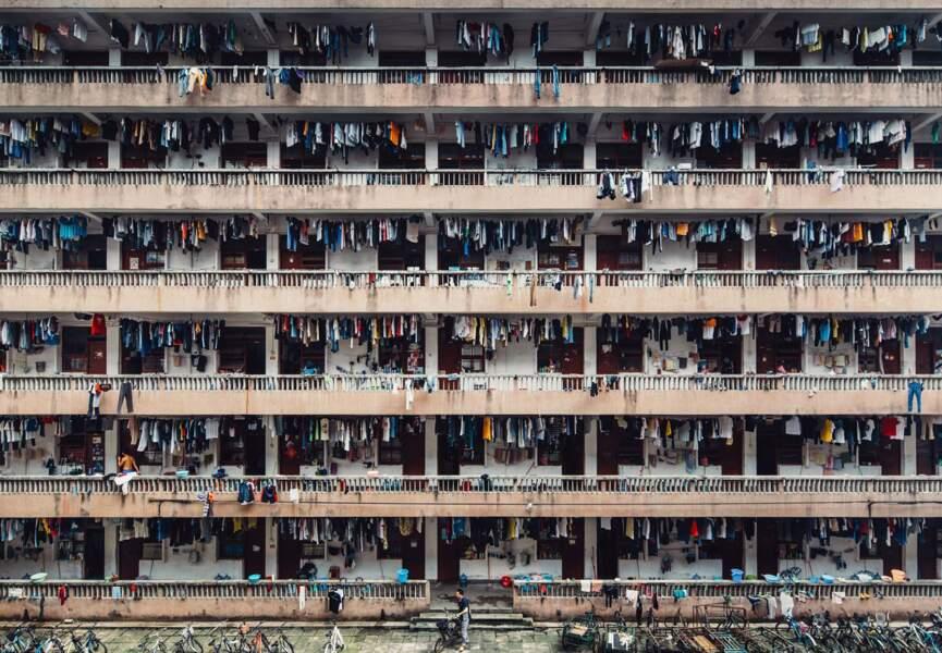 Guangzhou, Chine, une cité étudiante