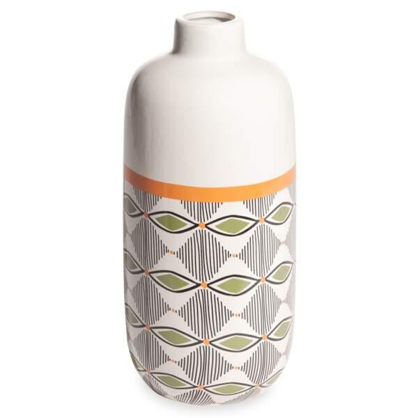Vase motifs ethniques