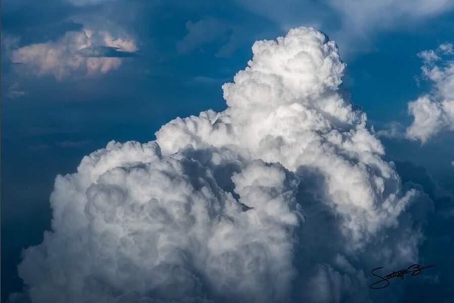Des cumulus… très poétiques !