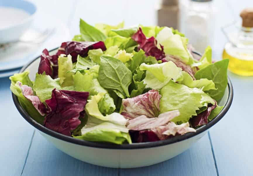 Une salade croquante très longtemps