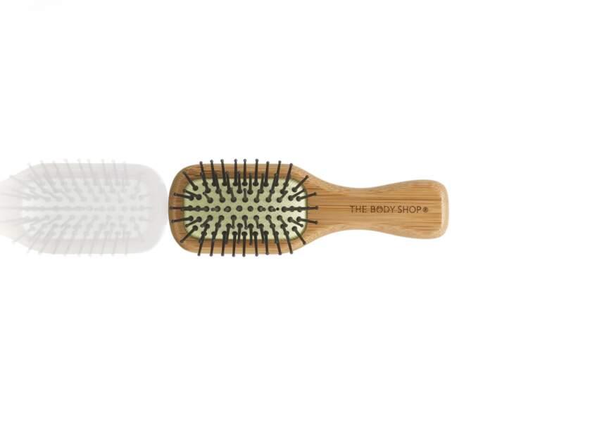 La mini-brosse en bois