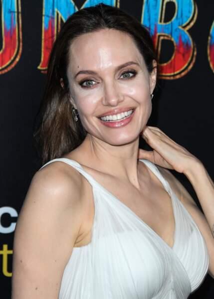 Angelina Jolie à l'avant première mondiale du film Dumbo