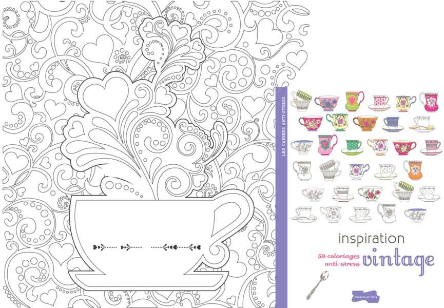 "Coloriage ""Inspiration Vintage"""