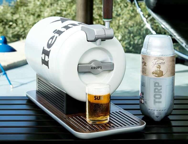 Une tireuse à bière design