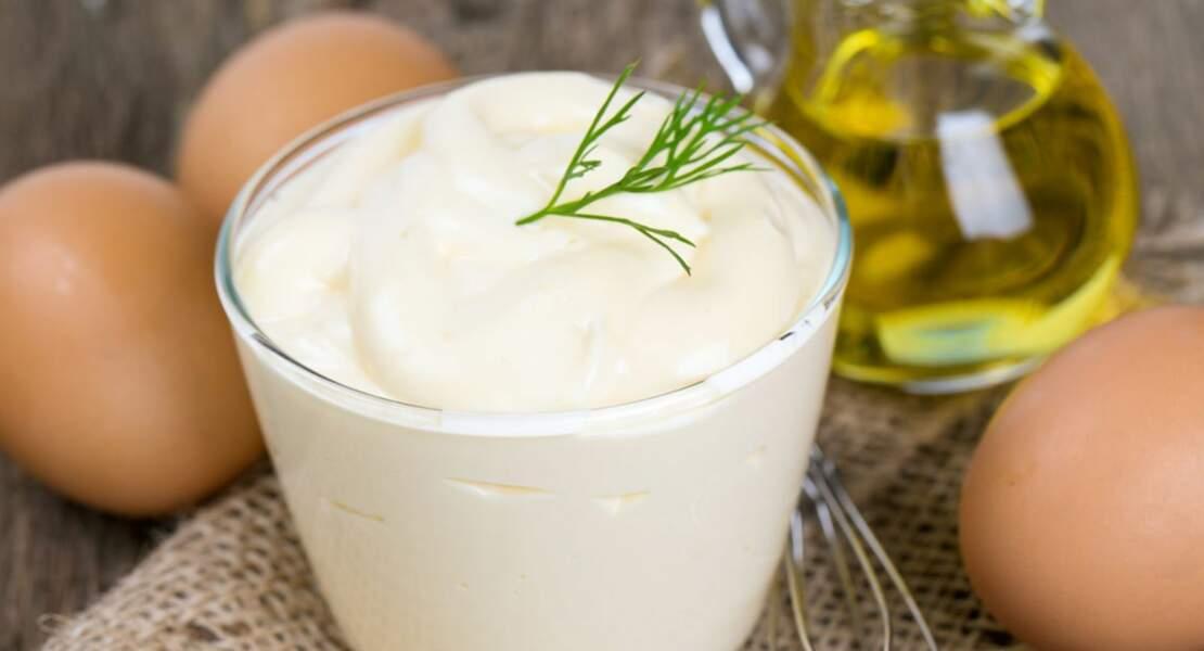Mayonnaise à l'oeuf dur