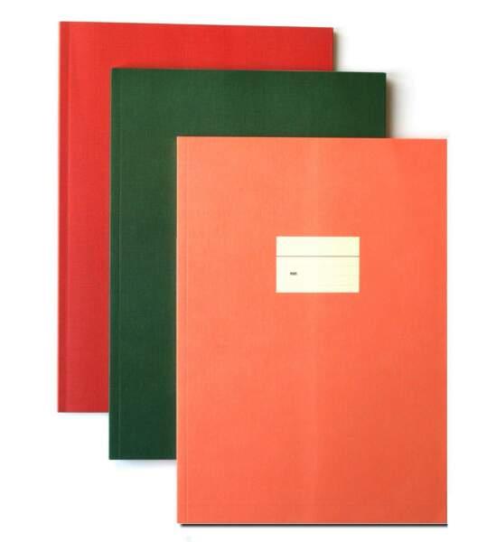 Cahiers aux couleurs tendance