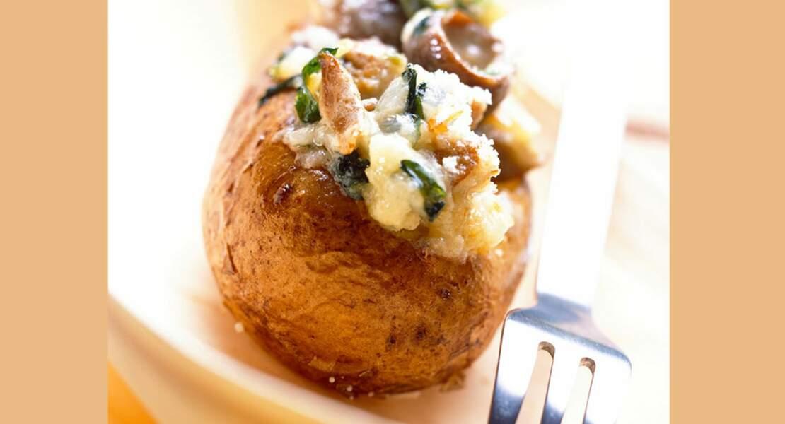 Pommes de terre farcies au thon