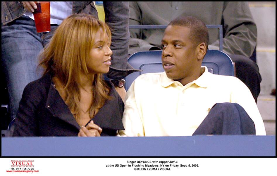 Beyonce Knowles et Jay Z...