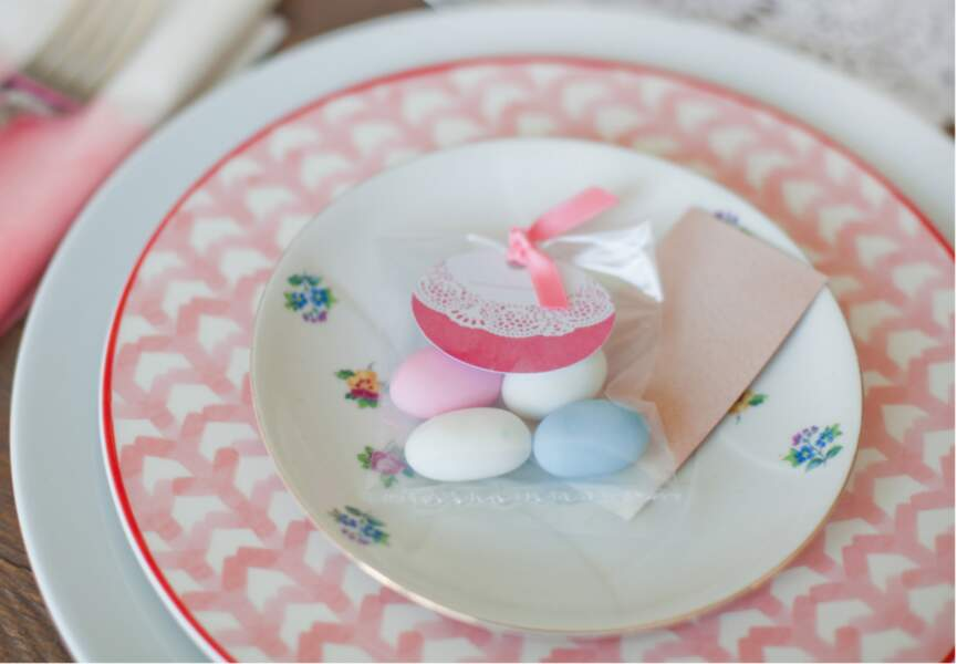 Des étiquettes pour vos sachets de bonbons ou vos dragées
