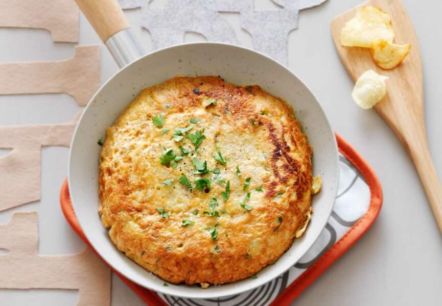 Omelette hyper simple
