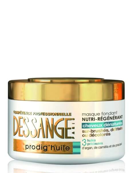 Régénérez vos cheveux sur-brushés ou décolorés avec Dessange