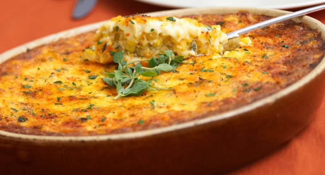 Polenta aux quatre fromages