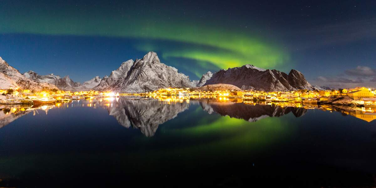 Un spectacle majestueux qui électrise l'archipel des Lofoten, au nord de la Norvège