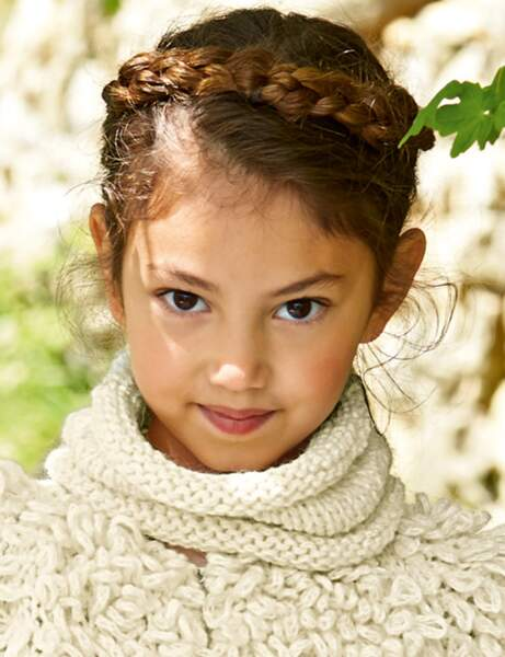Modèle de tricot gratuit : le snood pour enfant